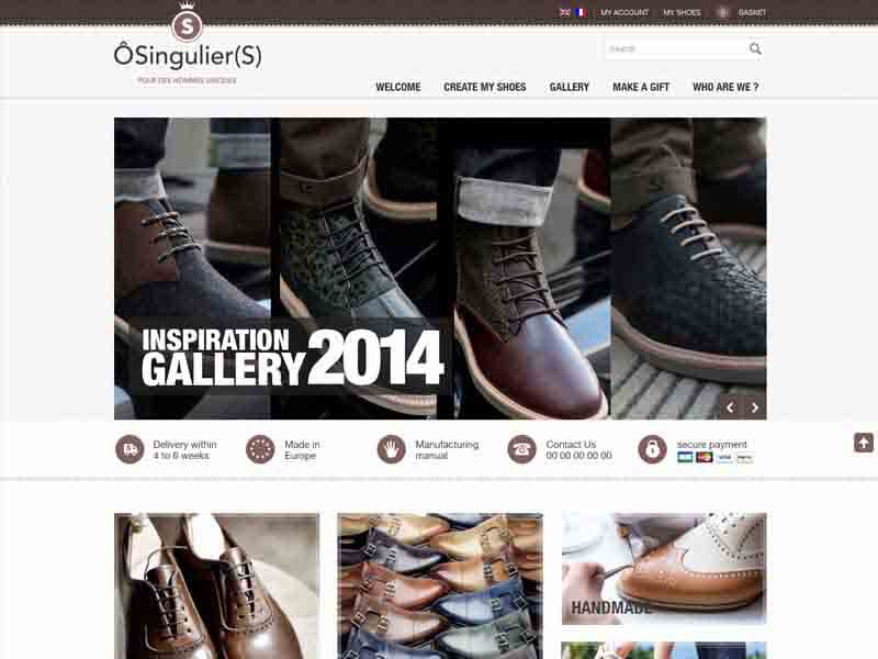 Custom Shoe Design Tool in HTML 5 + JS integrated with Magento E-commerce site