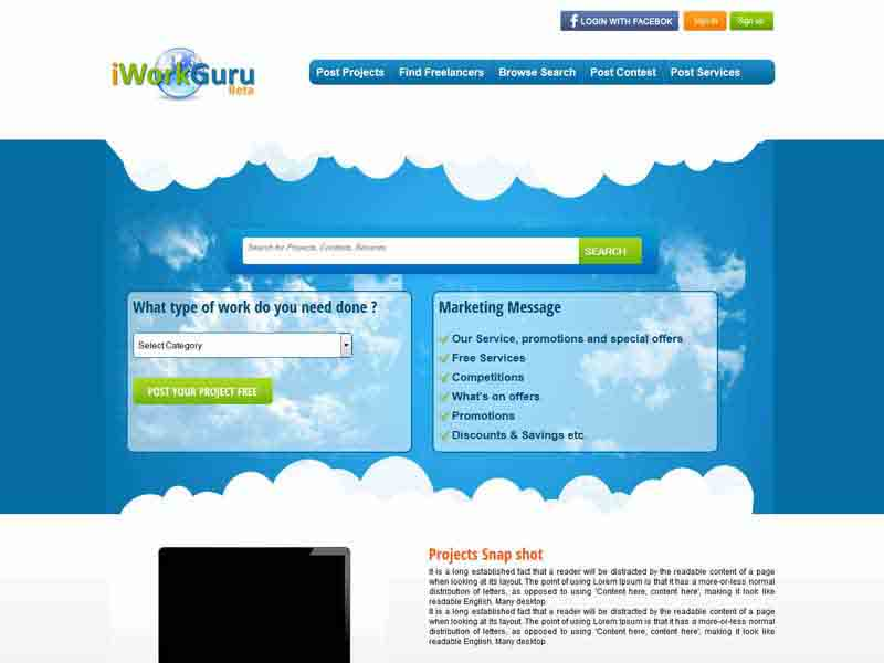 Reverse Auction Site – iworkguru